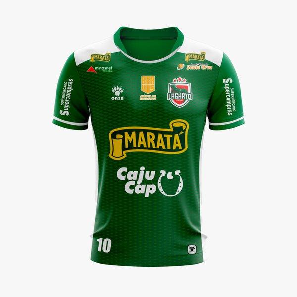 Camisa Lagarto Futsal - Uniforme 2019