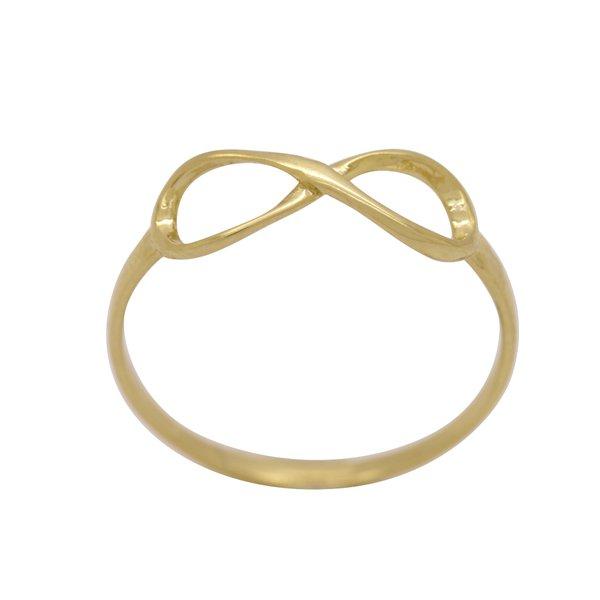 Anel Simbolo do Infinito em Ouro 18k