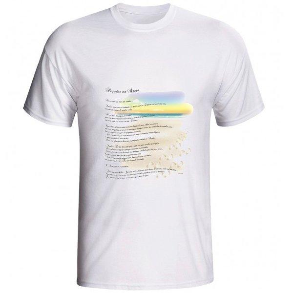 Camiseta Pegadas na Areia