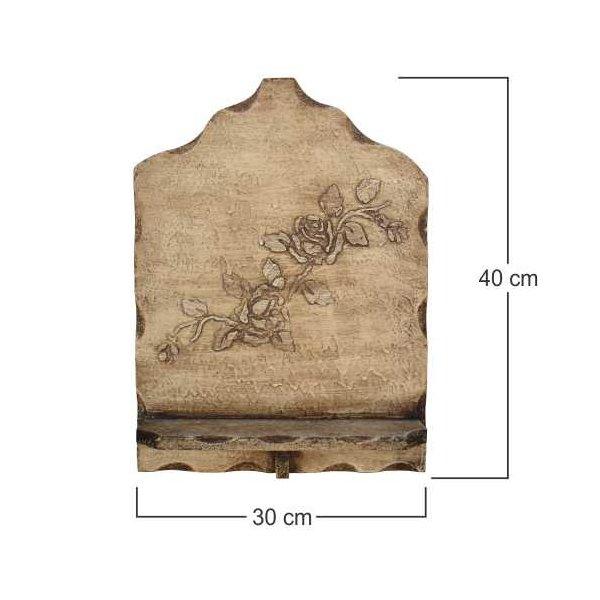 Porta Bíblia Madeira Grande 30x40cm