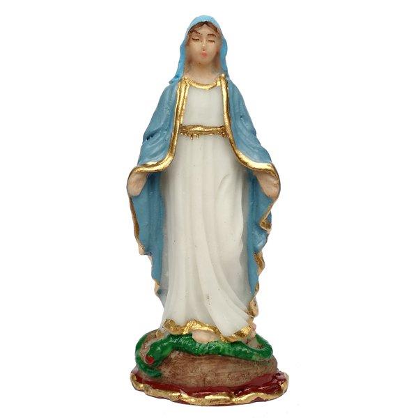 Imagem de Nossa Senhora das Graças 7cm Resina Nacional