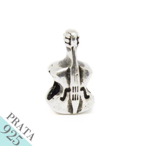 Pingente Violino Memories Prata 925