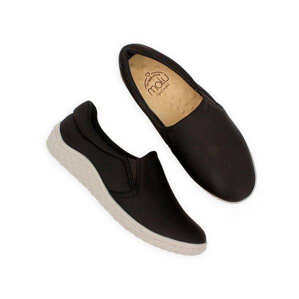 854a1a813 Sapatilha Confortável Feminina - Preta | Pé Relax Sapatos Confortáveis