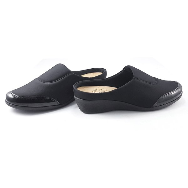 5ec5d742a Babuche Feminino para Joanete - Preto | Pé Relax Sapatos Confortáveis