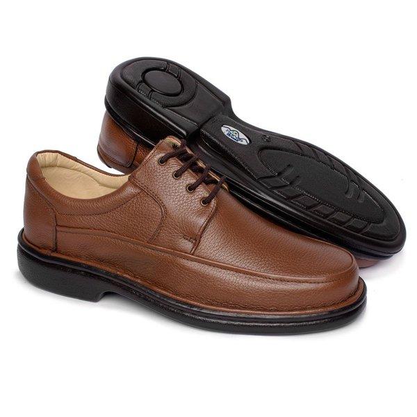 5fde60f52 Sapato Masculino Tamanho Grande - Marrom | Pé Relax Sapatos Confortáveis