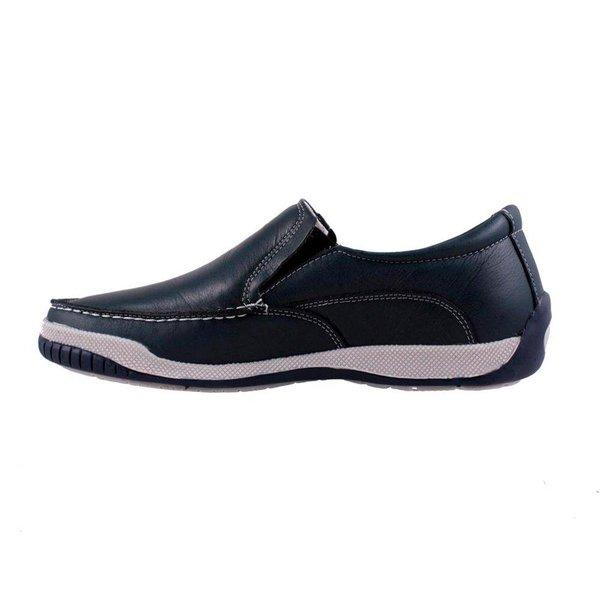 d0317df8b Mocassim Masculino Confort Tamanho Grande - Chumbo | Pé Relax Sapatos  Confortáveis