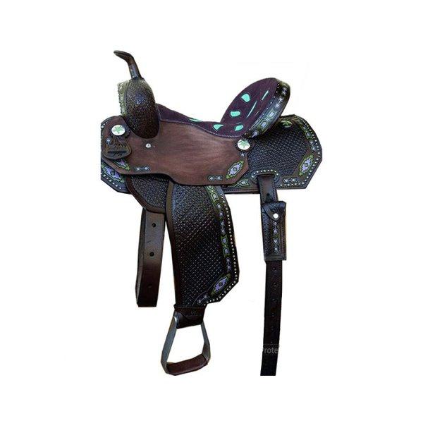 Sela de Couro Tambor - 01 Forma Protec Horse