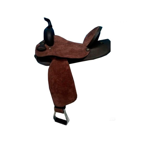 Sela em Neoprene Master Saddles Aba Quadrada - Marrom