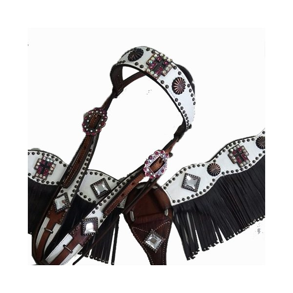 Conjunto Cabecada e Peiteira - Master Saddles 05