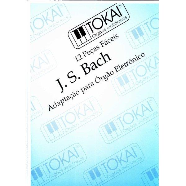 Método Para Orgão Eletrônico Bach Com Pedaleira