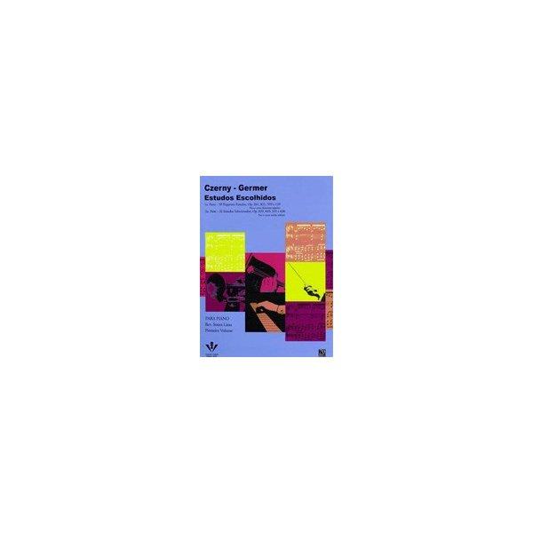 Método Para Piano Czerny Germer - Estudos Escolhidos