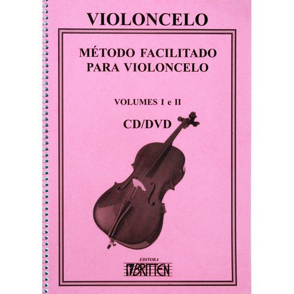 Método Para Violoncelo Facilitado com CD e DVD