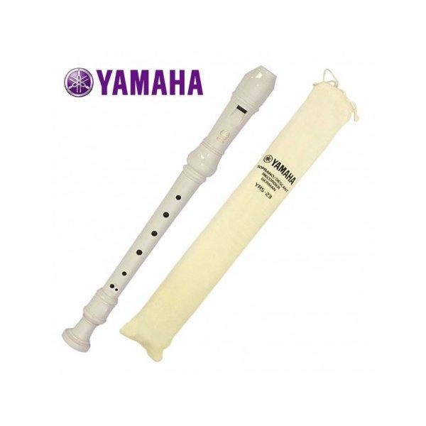 Flauta Doce Soprano Yamaha Germânica