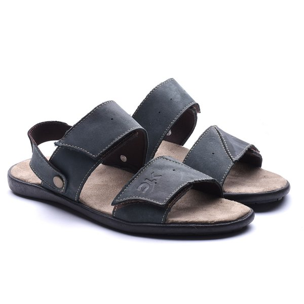 Papete/Chinelo DLK em Couro
