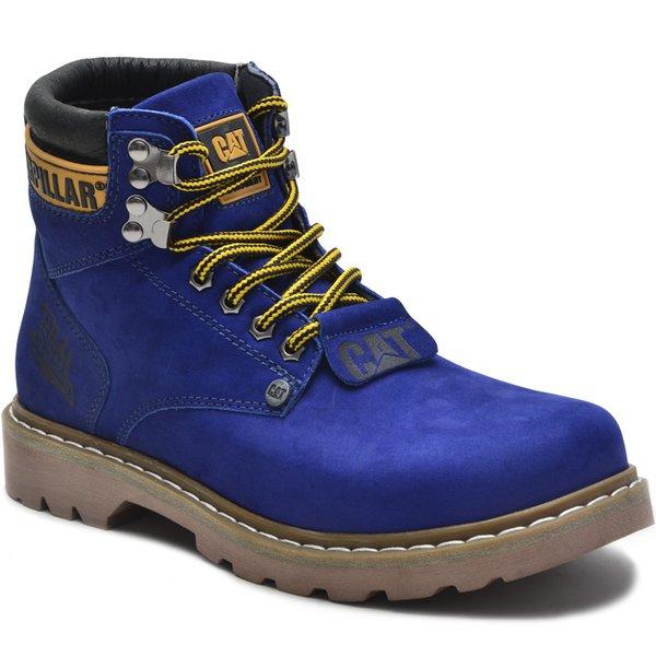 d38339152 Bota Caterpillar Second Shift Cinza Azul Royal | ROTA SHOES 24h