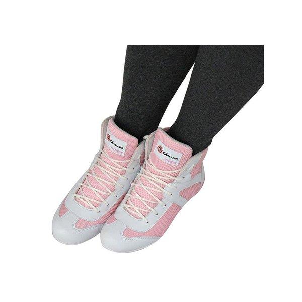 Bota Fitness Feminina De Cano Curto Cor Rosa Ref. 1062-233