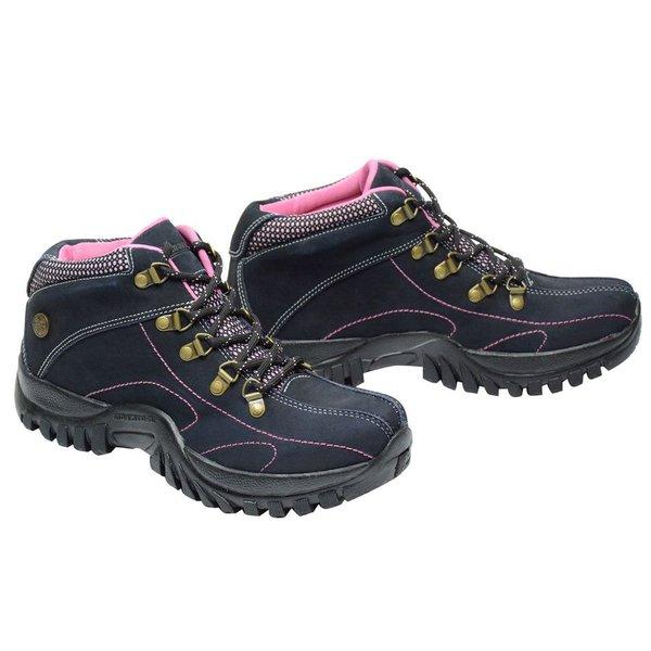 2bf2b58f2 Tênis Adventure Feminino Em Couro   Compre Tênis Adventure Aqui!   Sapatos  de Franca