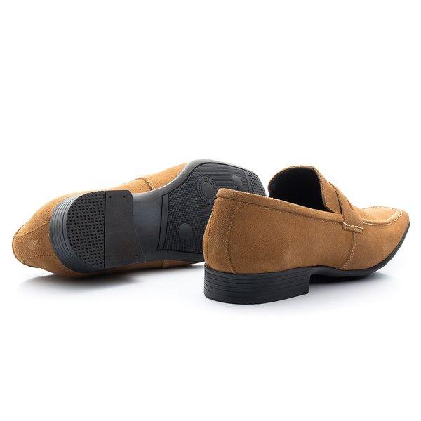 e6132c957 Sapato Social Esporte Fino cor Mel- Sapatos de Franca   Sapatos de Franca