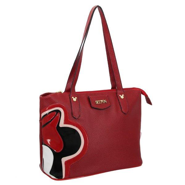 Bolsa Feminina Minnie Vermelha