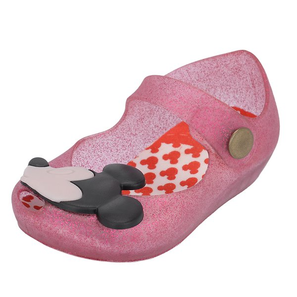 Sapatilha Infantil Mickey e Minnie do 17 ao 24 Rosa