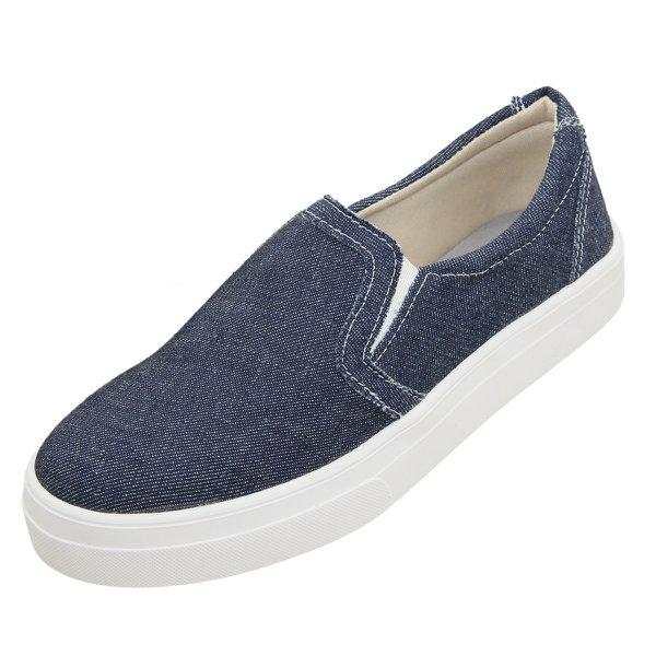 Sapatenis Feminino Sapatilha Alpargata Casual Jeans 519