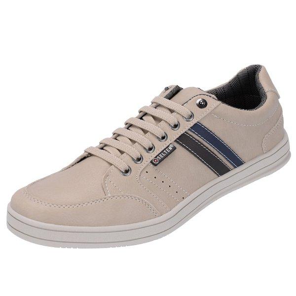 Sapato Casual Masculino Bege