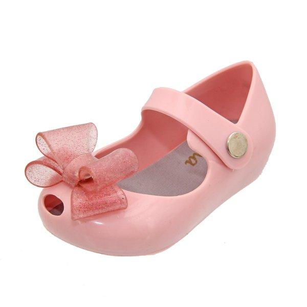 Sapatilha Feminina Infantil Laço Rosa Claro SP1