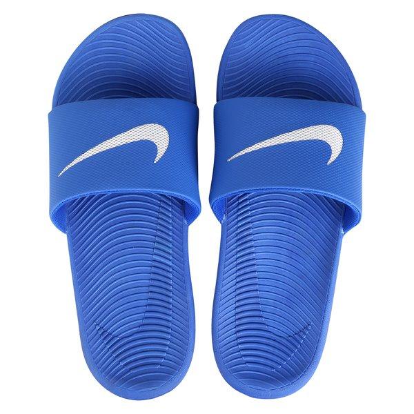 d83479803f Chinelo Sandália Nike Kawa Slide Azul Masculino