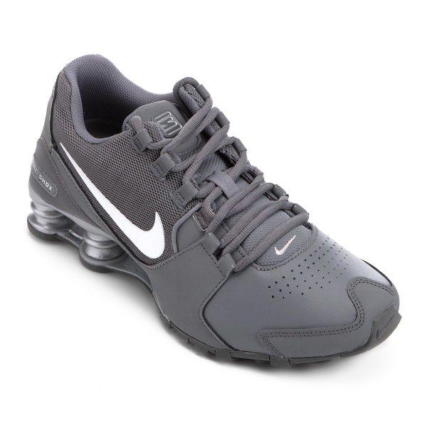 new style bcbad 83139 Tênis Nike Shox Avenue Ltr Cinza Masculino