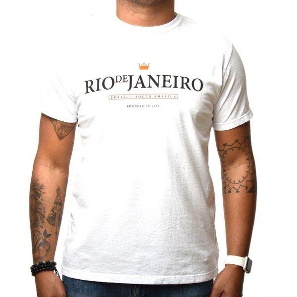 CAMISETA OSKLEN BRANCA RIO DE JANEIRO