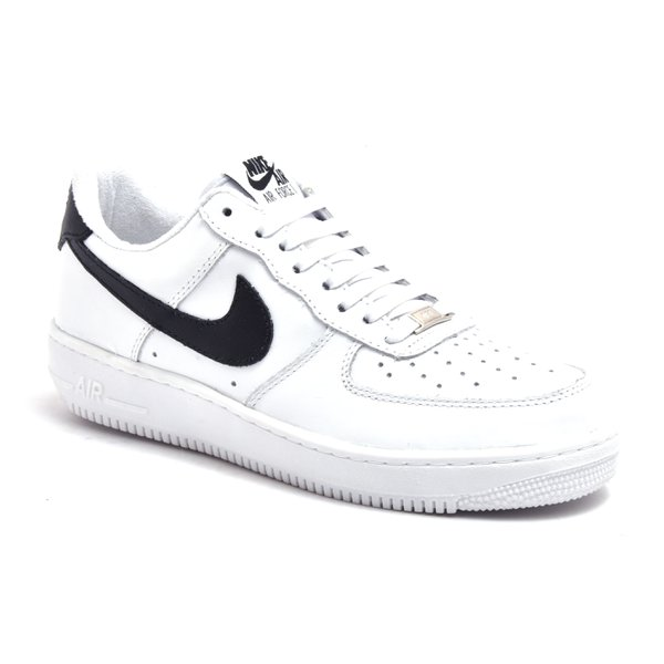 TENIS NIKE AIR FORCE BRANCO C/ PRETO