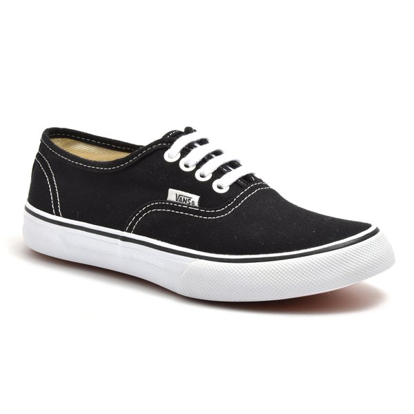 00742f48e27 TENIS VANS VAN AUTHENTIC PRETO C  BRANCO