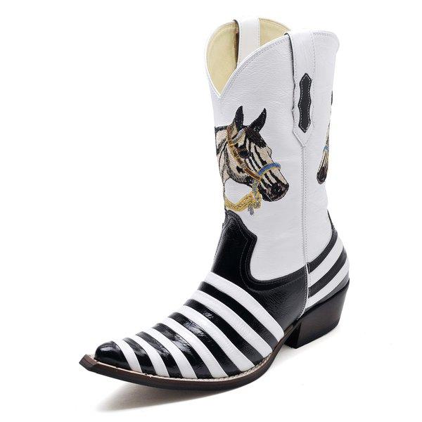 a0547956c Bota Country Bico Fino Top Franca Shoes Cafe | TOP FRANCA SHOES