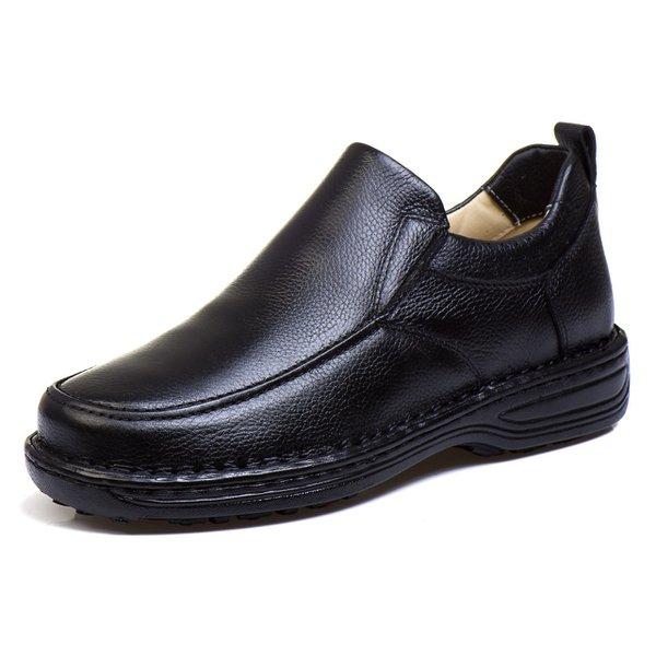 c946e949c Sapato Social Masculino de Calçar Ortopédico Flexível e Conforto Preto