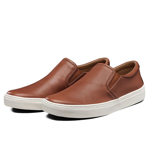 20bec25332 Tênis Sapatênis Lomen Slip On Neftali Whisky | TOP FRANCA SHOES