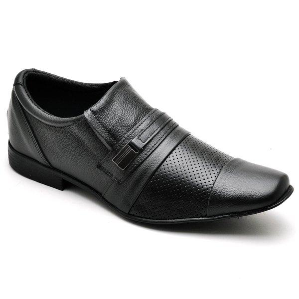 7e29e3f5dd Sapato Social Masculino Top Franca Shoes Preto 1540