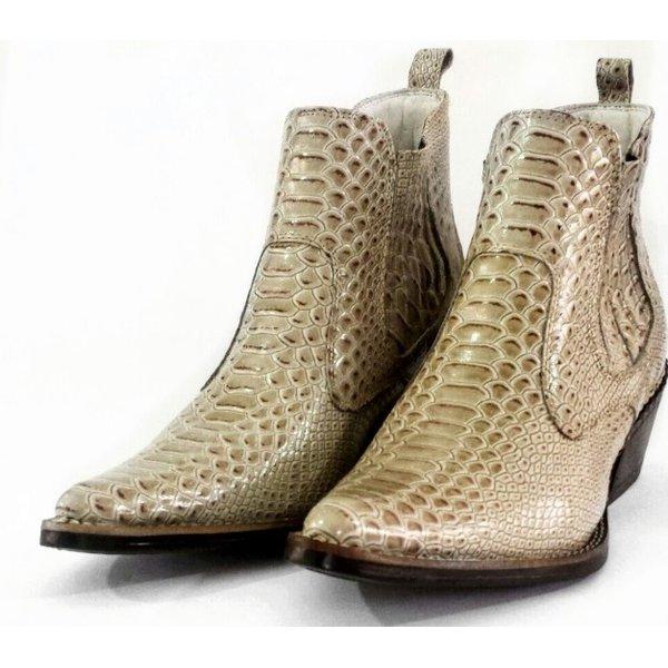 4e0a468fa6426 Bota Country Masculina Bico Fino Top Franca Shoes Palha | TOP FRANCA ...