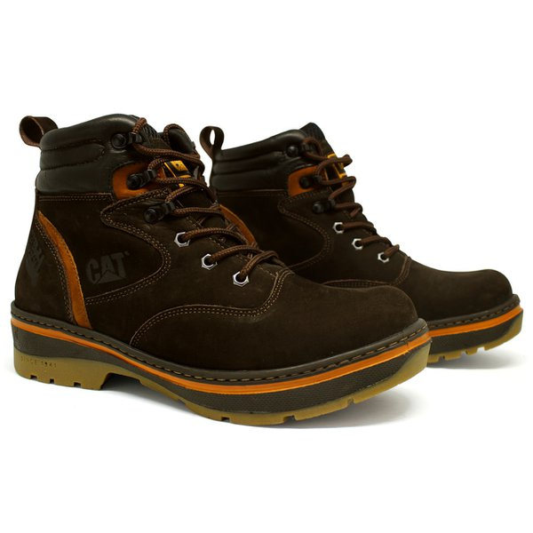 3a37894b5506d Bota Caterpillar New Model Café | TOP FRANCA SHOES