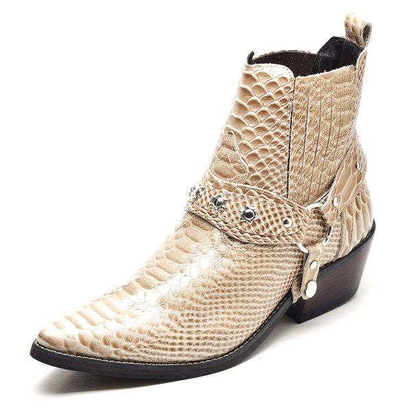 932e7b675b86a Bota Country Masculina Bico Fino Top Franca Shoes Cafe | TOP FRANCA ...