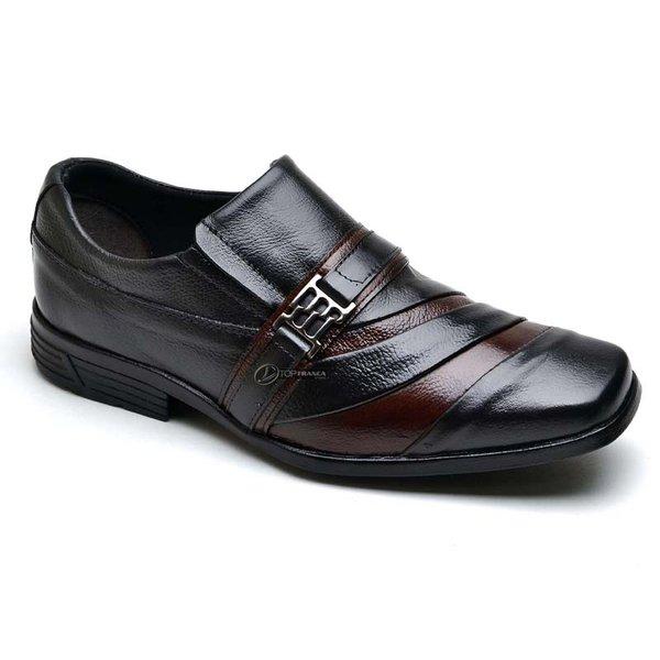 b907c5b406 Sapato Social Masculino Couro Nobre Tamanhos Especiais 37 ao 48