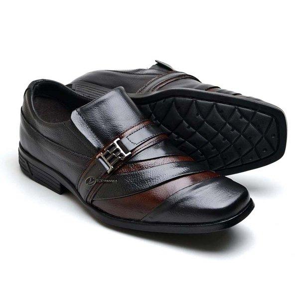 c5e3ed90ec Sapato Social Masculino Couro Nobre Tamanhos Especiais 37 ao 48