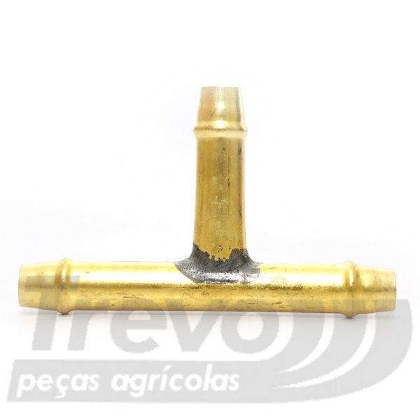 "Conector Intermediário ""T"" P/ Mangueira de 1/2"