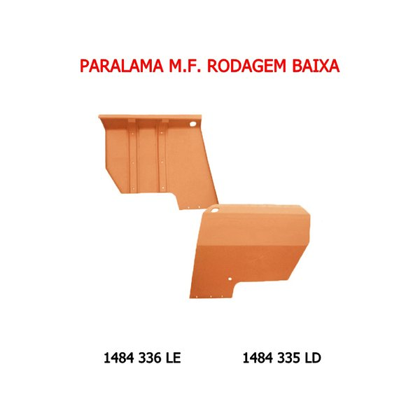 Paralama Trator Massey Fergungon 1484335 Rodagem Baixa