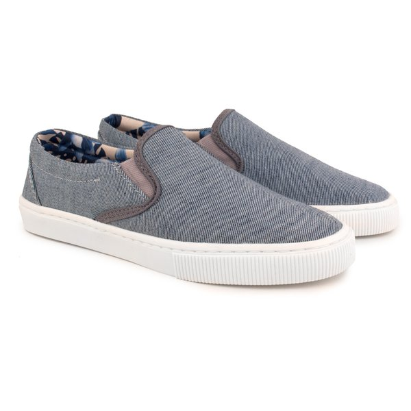 Tênis Trivalle Shoes Slip On Jeans