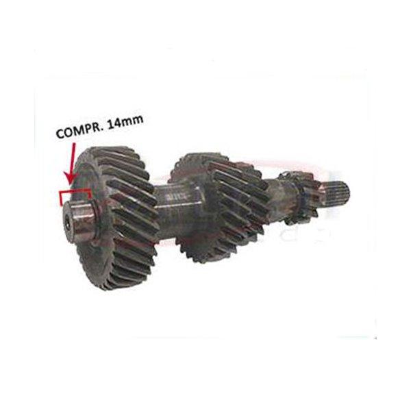 Eixo Carretel F1000 1993 a 1994, A20 e C20 1993 a 1994 todas com cambio Clark CL2205 5 marchas. 13/19/27/34 dentes. Numero Eaton 3317230