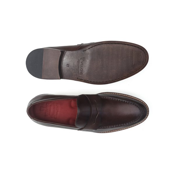 15b28838ae Sapato Masculino Loafer Campbell Tabaco