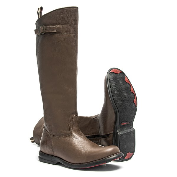 Bota Montaria Masculina Comfort Brown - Black Horse