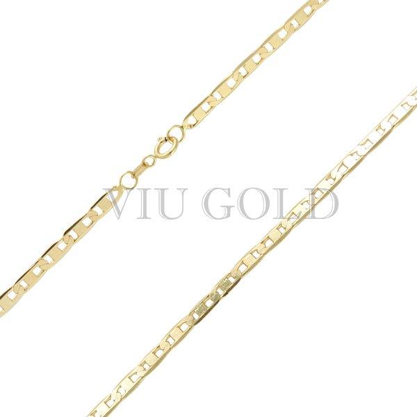Corrente Piastrine de 50cm em ouro 18k amarelo