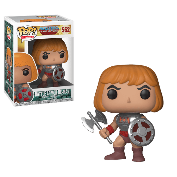 Masters of the Universe – Battle Armor He-Man Pop! Vinyl