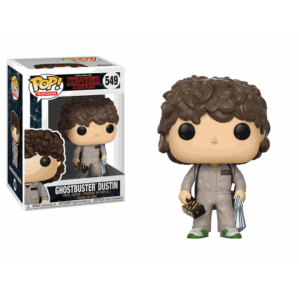STRANGER THINGS – GHOSTBUSTERS DUSTIN POP! VINYL
